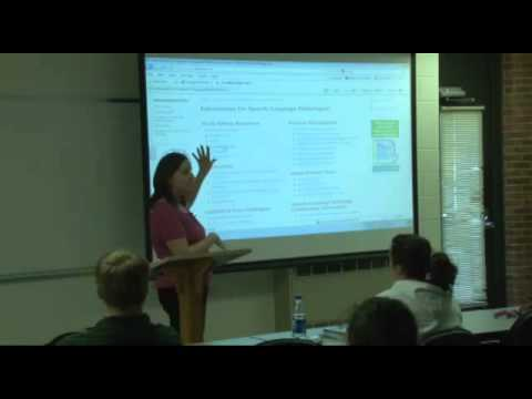 ALHE 2010 - Speech Language Pathology