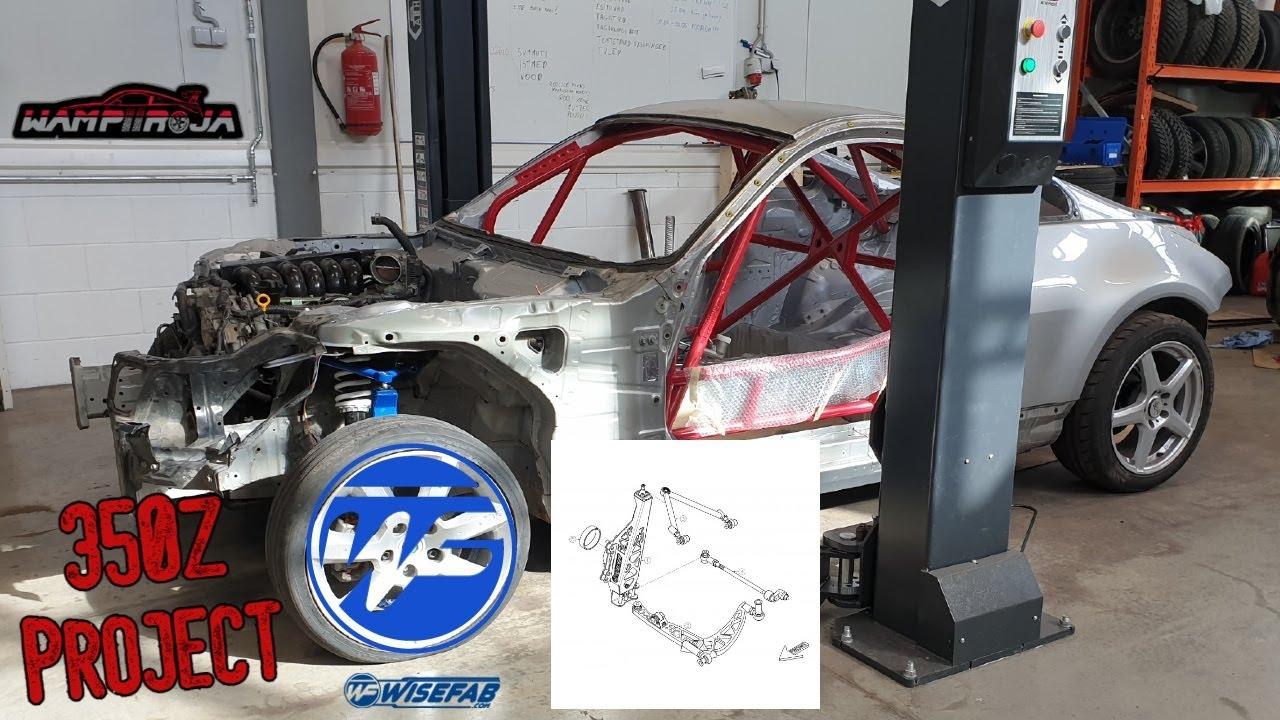 Paigaldame mootori ja WF-i kitid Drift Build Osa 10