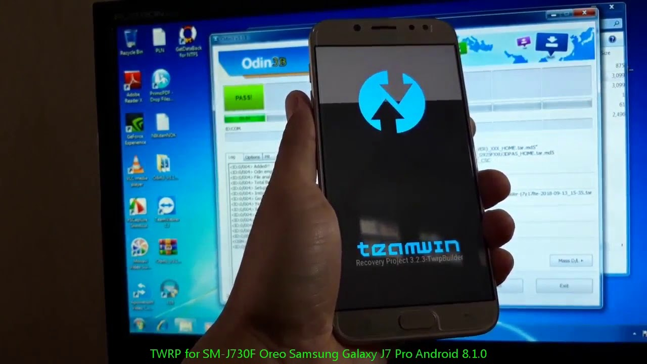 TWRP for SM-J730F Oreo Samsung Galaxy J7 Pro Android 8 1 0 by AndroidHowTo