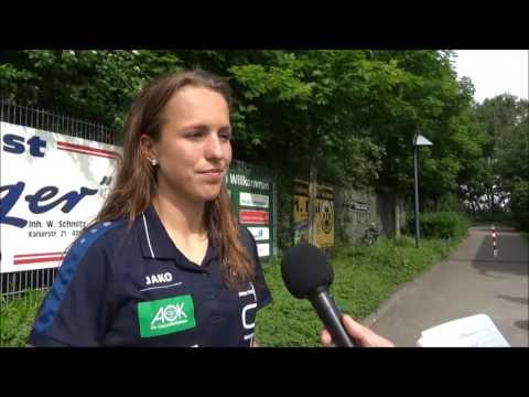 20170521 Interview mit Lia Joelle Wälti nacht dem Allianz Frauen Bundesliga Spiel MSV Duisburg   1FF