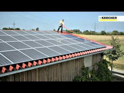 K 228 Rcher Solar Panel Cleaning System Keep Them Efficient