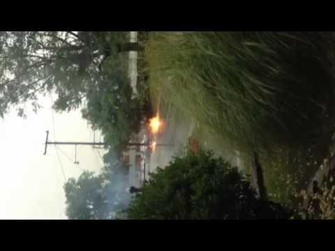 Electrical fire Halifax, VA