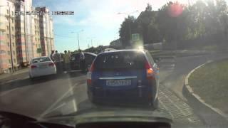 Авария на ул.Пирогова, г.Чебоксары