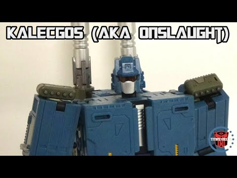 Unique Toys M-03 Kalecgos (Onslaught) + Ragnaros (Bruticus) Combined Mode!