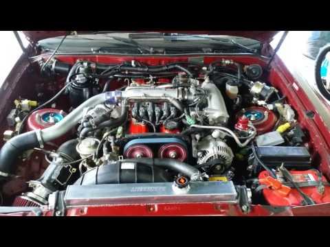 1987 Toyota Supra Turbo 320whp 7mgte
