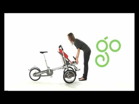 0c01914e448 Taga: from a bike to a stroller in 20 seconds - YouTube