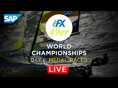 49er Sailing Live Replay - 2016 Worlds - Medal Races