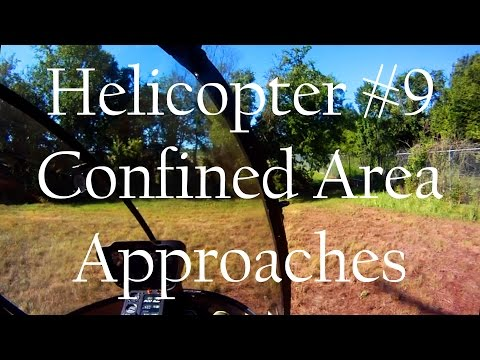 R22 Helicopter Add-On Full Lesson #9 + Cockpit Audio, Confined Areas/Straight-In/Hover Auto