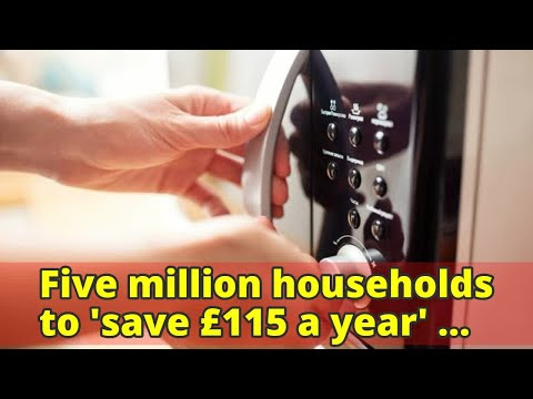 Five million households to 'save£115 a year' under new safeguard energy tariff