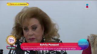 Sylvia Pasquel habla de la sal…