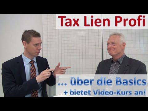 Deutscher Tax-Lien-Investor hilft Neulingen beim Einstieg