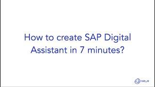 Ancak.SAP için aı Dijital Asistan
