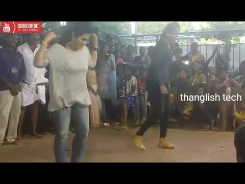Maari Thara local Tamil girls kuthu dance