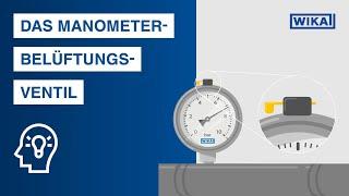 Das Manometer-Belüftungsventil | Darauf müssen Sie achten!