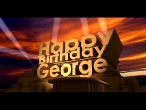 Birthday Cake For George