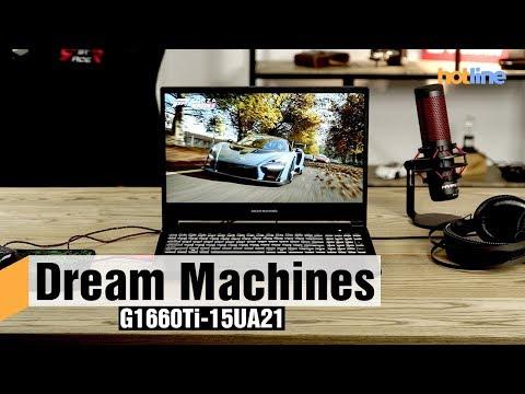 Dream Machines G1660Ti-15UA21 – обзор игрового ноутбука