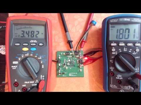 TI BQ25570 Energy Harvesting Demo with SuperCap
