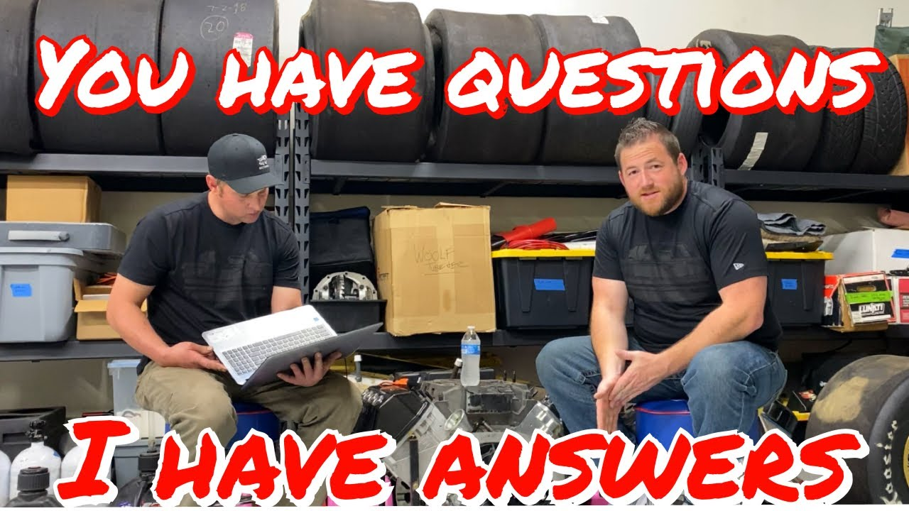 Question and Answer sesh with Kamikaze Chris from street outlaws