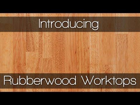 Rubberwood Worktops   Solid Wood Worktops By Worktop Express