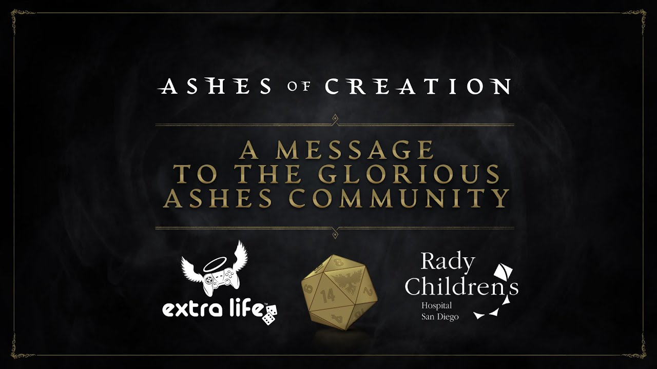 Ashes of Creation Raises Over $80K During Extra Life Event