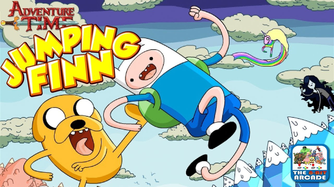Adventure Time Jumping Finn Time To Kick Some Serious Butt Literally Cartoon Network Games Youtube