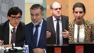 El toque de queda en Madrid protagoniza la agenda política
