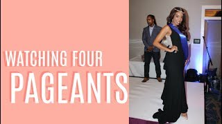 Pageant Vlog | Watching FOUR Pageants