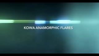 Kowa Anamorphic Flares Pack - Tropic Colour [4K]