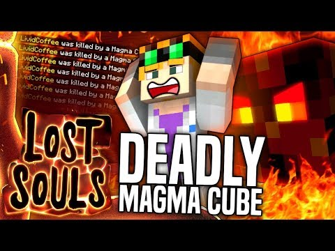 Minecraft - DEADLY MAGMA CUBE  - Lost Souls #6