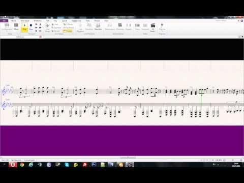 Awolnation - Sail (Piano Sheet Music | Sibelius)