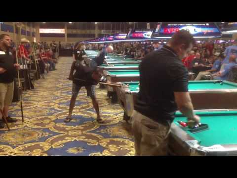 2016 APA American Poolplayers Association World Pool Championship in Las Vegas (Day 1)