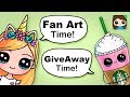 Draw So Cute Fan Art and Giveaway Time!!