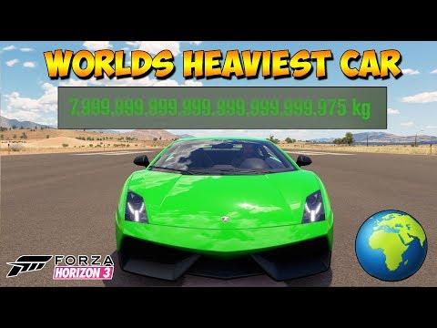 Forza Horizon 3 - Gallardo That Weighs More Than Earth - Dev Mods
