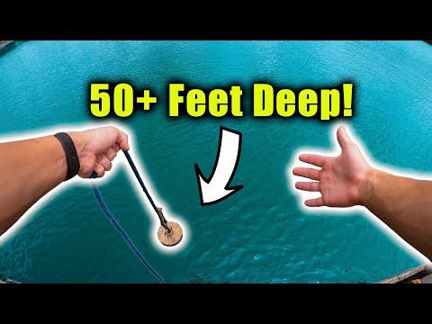 Magnet Fishing A SUPER Deep Lake