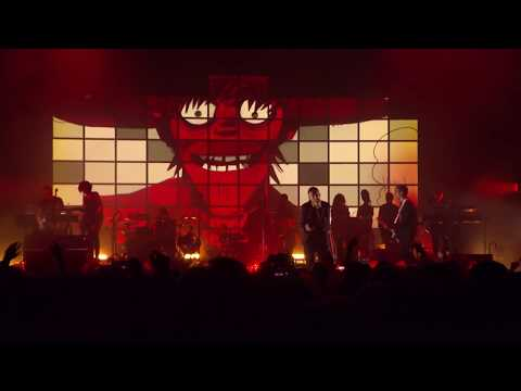GORILLAZ  Rhinestone Eyes  in Cologne 2017