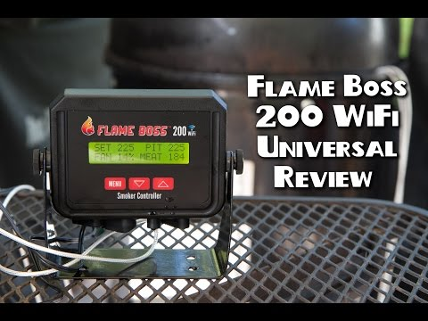Flame Boss 200 WiFi Universal Review