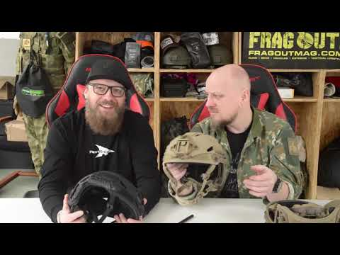 Frag.TV: Revision Military Caiman - USSOCOM Family of Tactical Headborne Systems