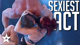 SEXIEST COUPLE on America's Got Talent: The Champions 2020 | Got Talent Global