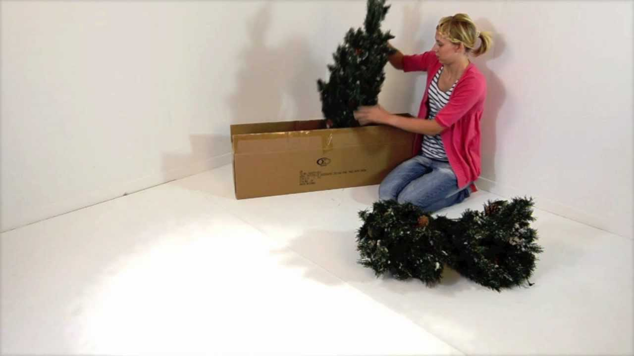 How To Assemble Your 5ft Pre Lit Deluxe Pine Christmas