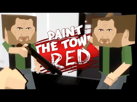 HOW TO ROB A BANK! - Workshop Levels W/ Krojak & The Fabulous Crusty - Paint The Town Red