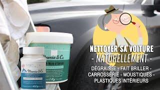 Nettoyer sa voiture au savon noir et bicarbonate de soude (astuce écologique)