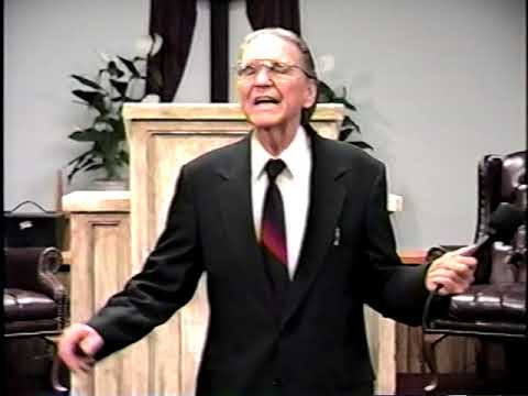 Bro. H. Richard Hall , Cleveland, TN. 11/27/1998 Part 1