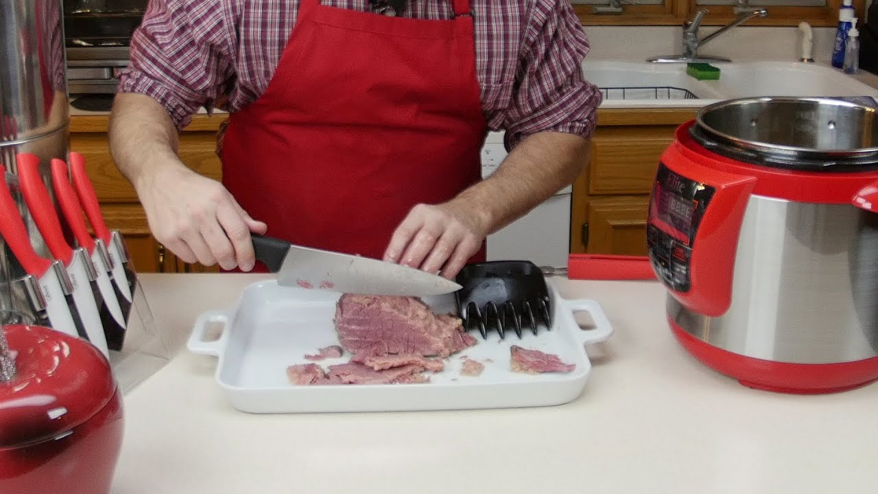 how to make pulled beef in pressure cooker