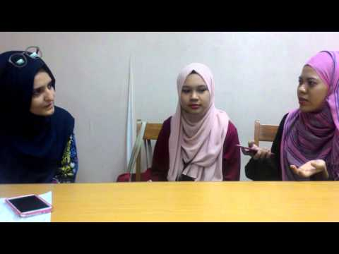 Interview with Elif, foreign student from Turkey.