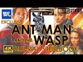 Ant-Man and the Wasp 4K Ultra HD Blu-ray Steelbook Unboxing | Best Buy Exclusive (4K Video)