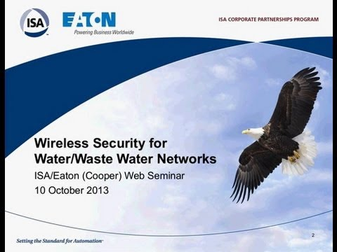 Wireless Security for Water/Waste Water Networks