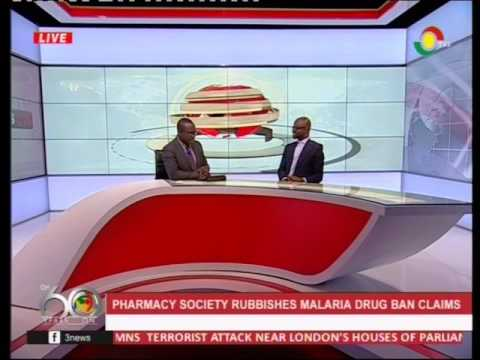 Pharmacy society rubbishes malaria drug ban claims -23/3/2017