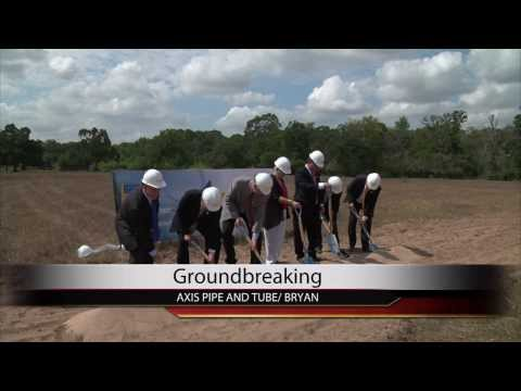 Axis Pipe and Tube Bringing Hundreds of Jobs to Bryan