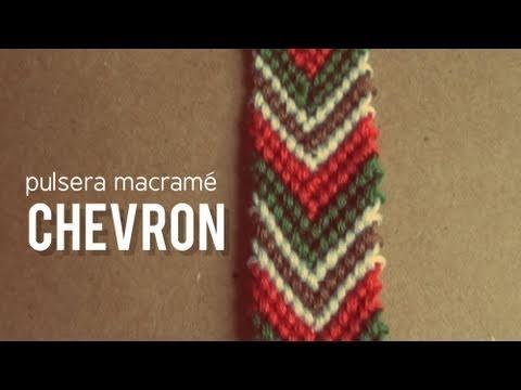 58bfb40490ad Pulsera de macramé flecha | | Educatube.es