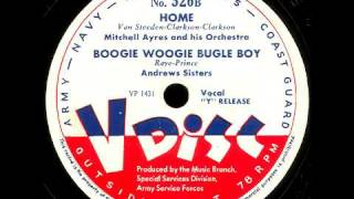 V-Disc 526 Mills Brothers, Mitchell Ayres, Andrews Sisters ( Bugle Boy)